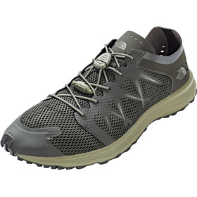 The North Face Litewave Flow Lace Shoes Herren black ink green/four leaf clover